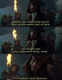 I miss this line and this movie!!! Who wants to have a pirates marathon? It's about time
