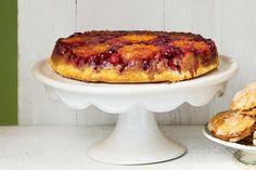 Upside-Down Orange-Cranberry Cake