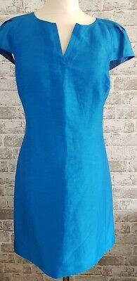 "<p dir=""ltr"">Coast Blue A line Cap Sleeve Dress Nwt 12 fully lined knee length. Stunning dress unworn fully lined shoulder to him 37"" </p> Stunning Dresses, Silk Dress, Types Of Sleeves, Sleeve Styles, Cap Sleeves, Coast, Shoulder, Blue, Women"