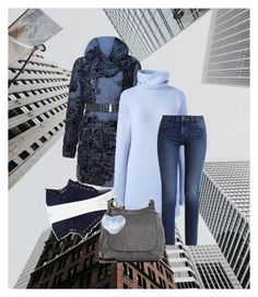 """""""back to the city"""" by gabriela-krchnacek ❤ liked on Polyvore featuring Desigual, Lands' End, Lanvin, Calvin Klein, The Row, Dorothy Perkins and plus size clothing"""