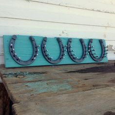 Horseshoe necklace holder  Jewelry Organizer  by DesignsInGrain, $45.00 horseshoe necklace holder, horseshoe wood crafts, country western crafts, horseshoe jewelry holder, crafti, western idea, horsesho necklac, country western decorating, diy