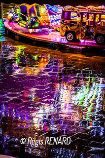 Manege : Pluie de lumières - fete foraine