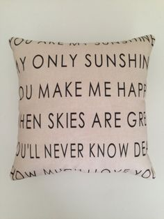 Hey, I found this really awesome Etsy listing at https://www.etsy.com/listing/125928921/new-85x85-modernized-you-are-my-sunshine