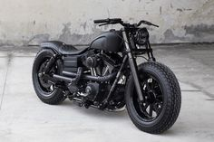 "Picture of Harley Davidson 2009 Fat Bob ""Dyna Guerilla"" by Rough Crafts"