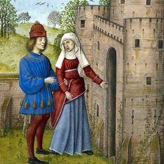 Miniatures & Manuscripts Roman de la Rose (Romanzo della Rosa) [Ms.Harley…I don't know guscard it looked bigher in the blueprints