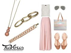 Proof that a pretty maxi skirt really CAN go anywhere! www.facebook.com/SirenAccessories