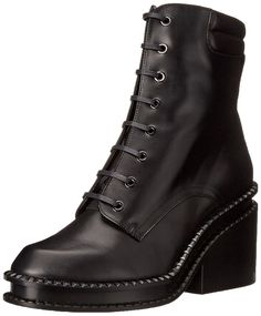 Robert Clergerie Women's Warti Combat Boot >>> Read more reviews of the product by visiting the link on the image.