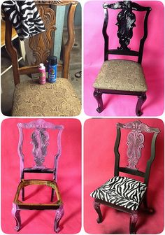 re done thrift store chair