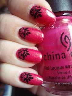beautiful nail art - Lucy's Stash