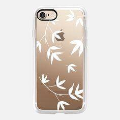 white bamboo - Classic Snap Case