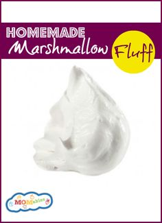 Easy homemade marshmallow fluff recipe with no corn syrup or fake vanilla. Easy homemade marshmallow fluff recipe with no corn syrup or fake vanilla. Marshmallow Fluff Frosting, Homemade Marshmallow Fluff, Homemade Marshmallows, Sweet Recipes, Real Food Recipes, Cooking Recipes, Fudge Recipes, Lunch Recipes, Icing Recipes