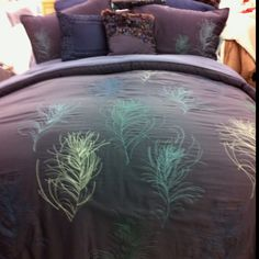 Bed bath & beyond peacock bedding that we love!!