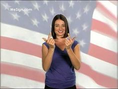 Pledge of Allegiance in Sign Language- great way to involve movement!