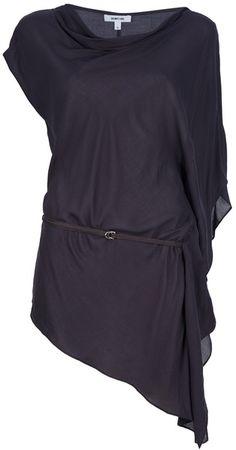 Helmut Lang Asymmetric Tunic Top