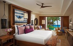 Secrets Cap Cana Resort & Spa boasts 457 elegantly appointed suites suited in sophisticated Caribbean décor.