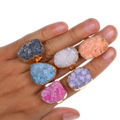 Find More Rings Information about M78002 Wholesale Irregular Agate Natural Stone Bezel Setting Rings Amethyst Druzy Ring For Engagement Vintage Femininos Gift P7,High Quality ring color,China ring glass Suppliers, Cheap ring speed from Morgan Jewelry and Wedding Craft on Aliexpress.com