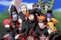 Obito seems to be happy with the Akatsuki - 1 Naruto Shippuden Sasuke, Itachi Uchiha, Sasori And Deidara, Deidara Akatsuki, Gaara, Kakashi, Otaku Anime, Anime Naruto, Fan Art Naruto