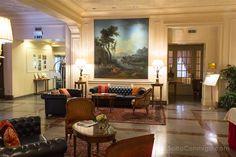 El hall de entrada del Gran Hotel Sitea