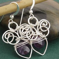 http://jamiebrock.hubpages.com/hub/How-To-Make-Wire-Wrapped-Jewelry