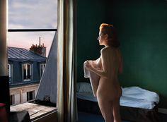 """""""Morning in The City"""" de Edward Hopper (1944), réinterprété par Michael Luppi pour Paulette"""