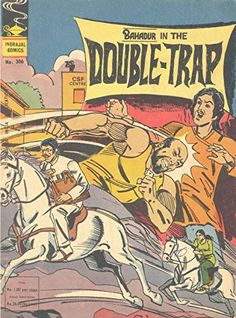 Indrajal Comics-306-Bahadur: In The Double-Trap (1978) by... https://www.amazon.com/dp/B01A13ID6S/ref=cm_sw_r_pi_dp_x_0fP3ybMA4TXWK