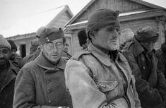Romanian prisoners of war taken prisoner near the village near the town of Kalach Raspopinskoy. November 24, 1942