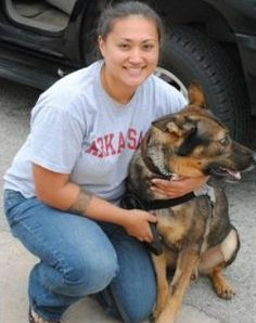 Sgt. Creamer is believed to be the first female Military Working Dog Handler killed in action since the program began in 1942. Sgt. Creamer served six years in the U.S. Army and was a member of the 212th Military Police Detachment, Headquarters B