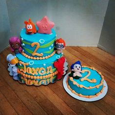 Bubble guppies cake by Whites Cake Box