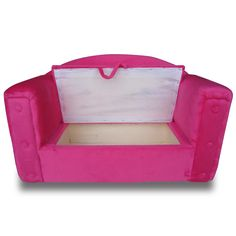 Kindercouch in Rosa bei www.kindercouchenland.de unter http://kindercouchenland.de/kindercouch.html