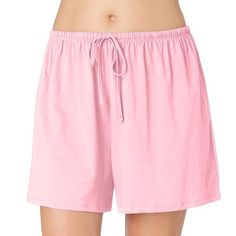 Plus Size Jockey Pajamas: Modern Cotton Pajama Shorts. woman's ...