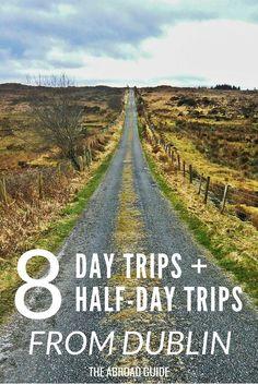 Jour et demi Excursions à prendre de Dublin - Si vous voulez visiter Dublin tout en étudiant à l'étranger ou tout simplement voyager en Irlande puis vérifier ces 8 endroits à visiter pour une grande excursion d'une journée ou demi options de voyage de jour. Sortez de Dublin avec une excursion d'une journée en Irlande.