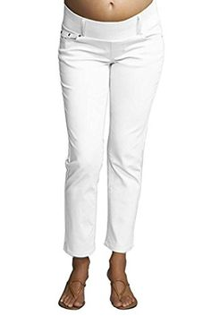 9fd0ceec1 Maternal America Skinny Ankle Maternity Jeans at Amazon Women s Clothing  store