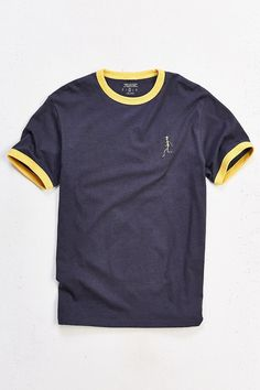 UO Embroidered Alien Ringer Tee