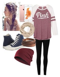 """""""Untitled #29"""" by fallchild16 ❤ liked on Polyvore featuring Max Studio, Converse, maurices and Pieces"""