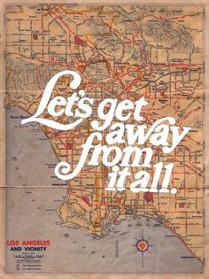 Discover more of the best Map, Mudchicken, Los, Angeles, and Type inspiration on Designspiration Places To Travel, Places To Go, Travel Destinations, Travel Stuff, Holiday Destinations, All I Ever Wanted, By Train, I Want To Travel, Travel Quotes