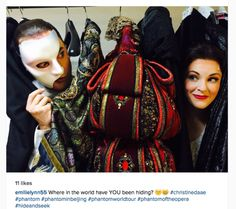 Operafantomet: phantoming, From Emilie Lynn's open Instagram
