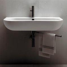 Nuvola Bathroom Ceramic Ware - Washbasins and Sanitary Ware Bathroom Basin, Bathroom Spa, Small Bathroom, Bathroom Ideas, Bath Ideas, Pedestal Basin, Opening A Boutique, Dream Bath, Beautiful Bathrooms