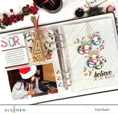 December Daily - @altenew #stamping #december #decemberdaily