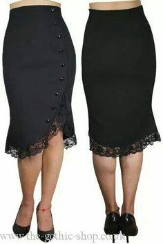 Gothy business skirt
