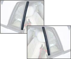 Replace that worn out convertible quarter window vertical weatherstrip on your 1983-1993 Mustang today!