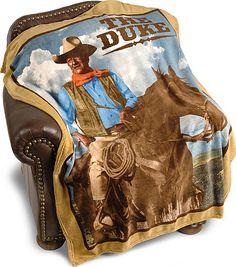 John Wayne Throw Blanket