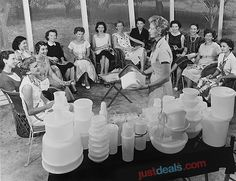 Retired Tupperware   Old School Tupperware Party! [PIC]