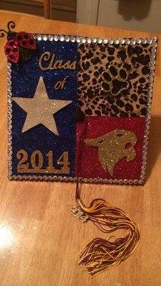 My Texas State University graduation cap!!!