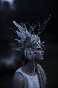 Freyja | Christina Kruse | Jeff Elstone #photography | StyleZeitgeist 3 Fall 2012 custom made hat for shoot?