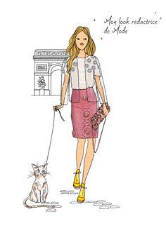Pour la #PFW, adoptez le total look rédactrice de mode ! http://www.doitinparis.com/fr/mode-femme/le-look-de-la-semaine/des-looks-dignes-dune-redactrice-de-mode-2200