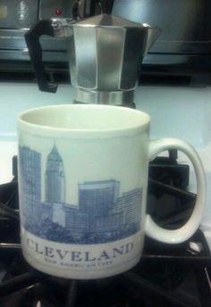 starbucks mug #Cleveland