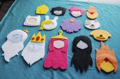 Adventure time felts! Cooleo!