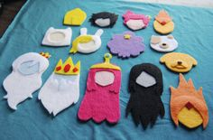Felted Adventure Time