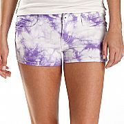 Truce Truce Tie-Dyed Shorts