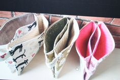 f:id:syuhunomisin:20160826231747j:image Sew Together Bag, Purse Tutorial, Pouch Bag, Pouches, Fabric Bags, Cute Bags, Top Pattern, Small Bags, Purses And Bags
